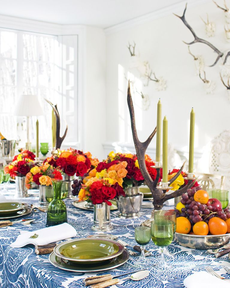 Decorating Tablescapes: Ideas For Autumn Tablescape