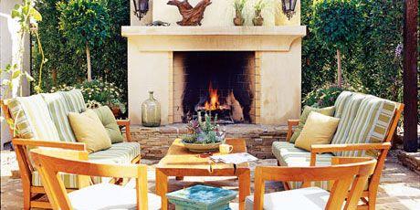 Romantic Outdoor Rooms