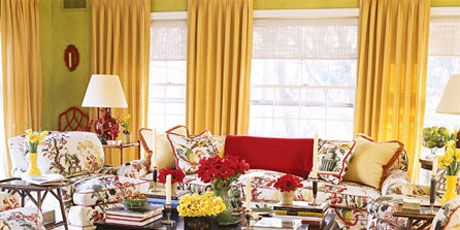New traditional living room with Asian-inspired touches.