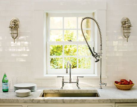 deep and roomy sink in kitchen of the month