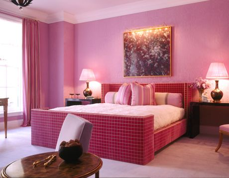 High Glamour Pink Bedroom