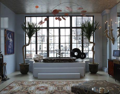 Spacious Masculine Manhattan Bath