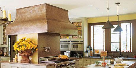 California - Kentfield - Old World Style - Kitchens