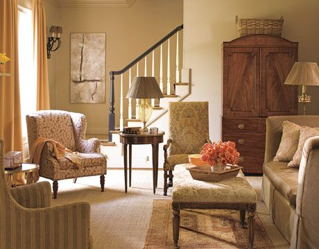 living room in charlotte north carolina designed by kathy smith