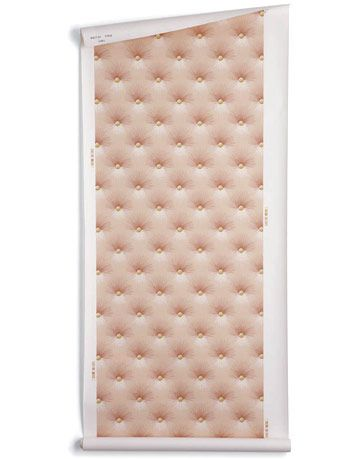 pink tufted wallpaper