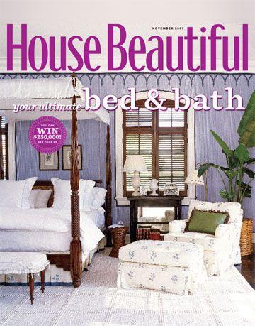 house beautiful november cover