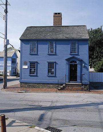 blue exterior
