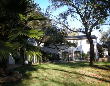 exterior of kathryn ireland's home