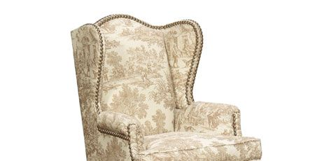 chair with nailheads