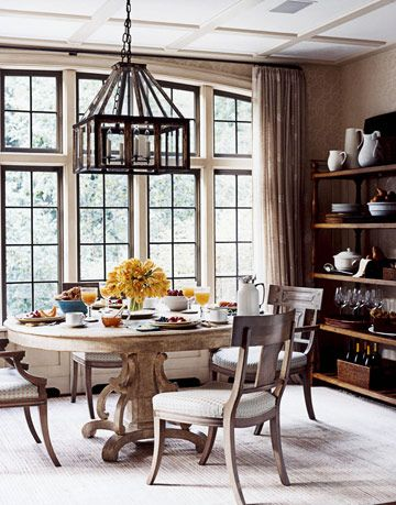 breakfast room with table