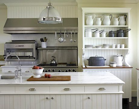 Attractive Old Fashioned Maine Kitchen Designed By Roman Hudson
