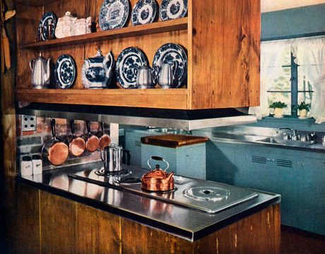 1950S Kitchens Glamorous Retro Kitchen Decor  1950S Kitchens Design Decoration