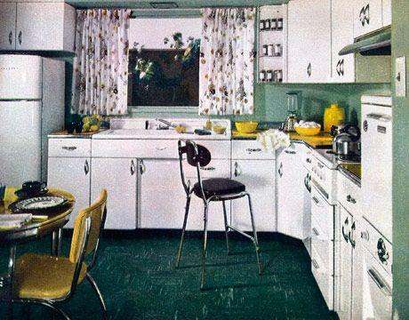 1950S Kitchen Prepossessing Retro Kitchen Decor  1950S Kitchens Decorating Design
