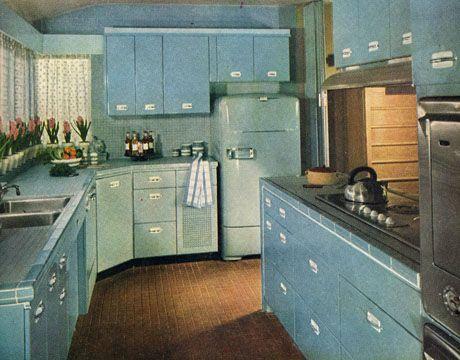 1950S Kitchen Enchanting Retro Kitchen Decor  1950S Kitchens Design Inspiration