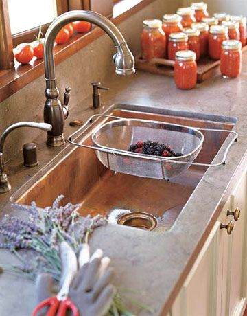 Kitchen and Bathroom Sinks   Styles of Sinks. Kitchen Sink Designs. Home Design Ideas