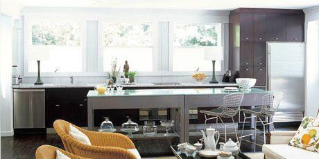 Family Room Kitchens - Kitchen Design Ideas