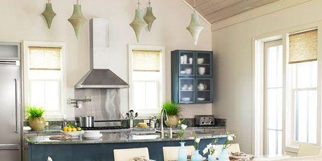 Kitchen Designs - Ocean-Inspired Kitchen - Kim Fouquet