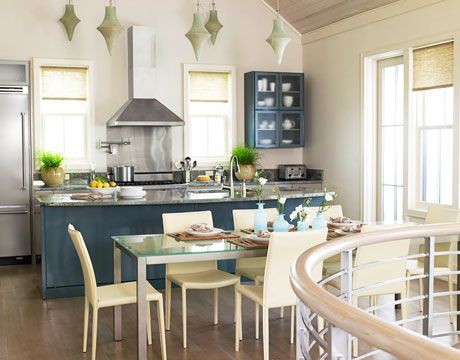Exceptionnel Blue And White Kitchen In Florida Designed By Kim Fouquet