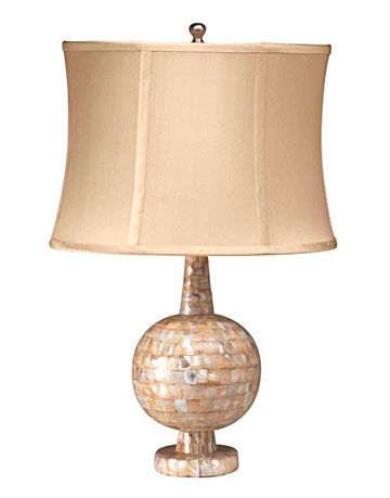 lamp with round base