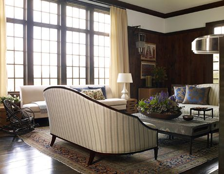 living room in hudson valley house designed by kathryn scott