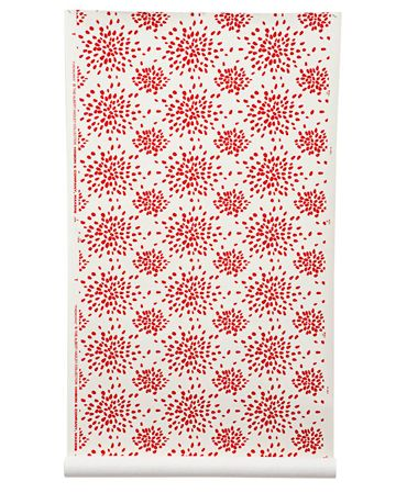 wallpaper with red and white fireworks pattern