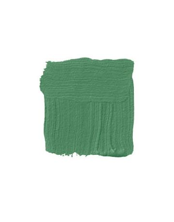 green paint swatch