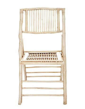 bamboo folding chair