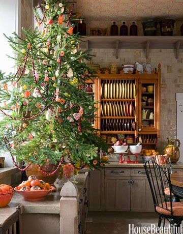 Christmas Tree Decoration Ideas Pictures Of Beautiful - Old fashioned christmas decorating ideas