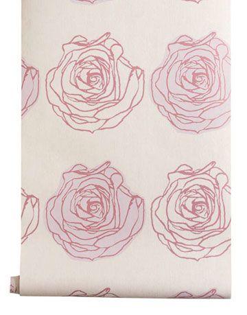 rose wallpaper in pink