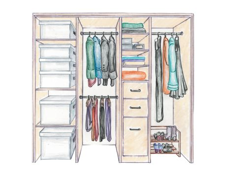 closet illustration