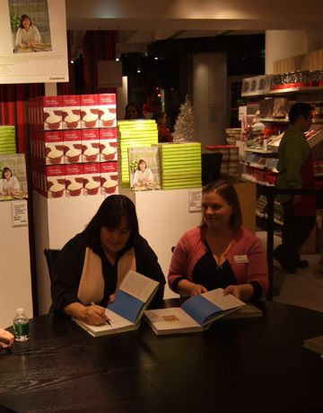 ina signing books