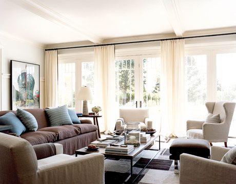 stunning east hampton living room design | Decorating a Hampton Designer Showhouse - Updating Summer Home