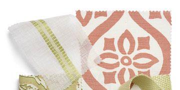 swatches of fabrics