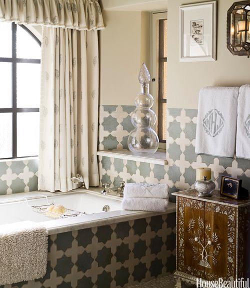 48 Bathroom Tile Design Ideas - Tile Backsplash and Floor Designs ...