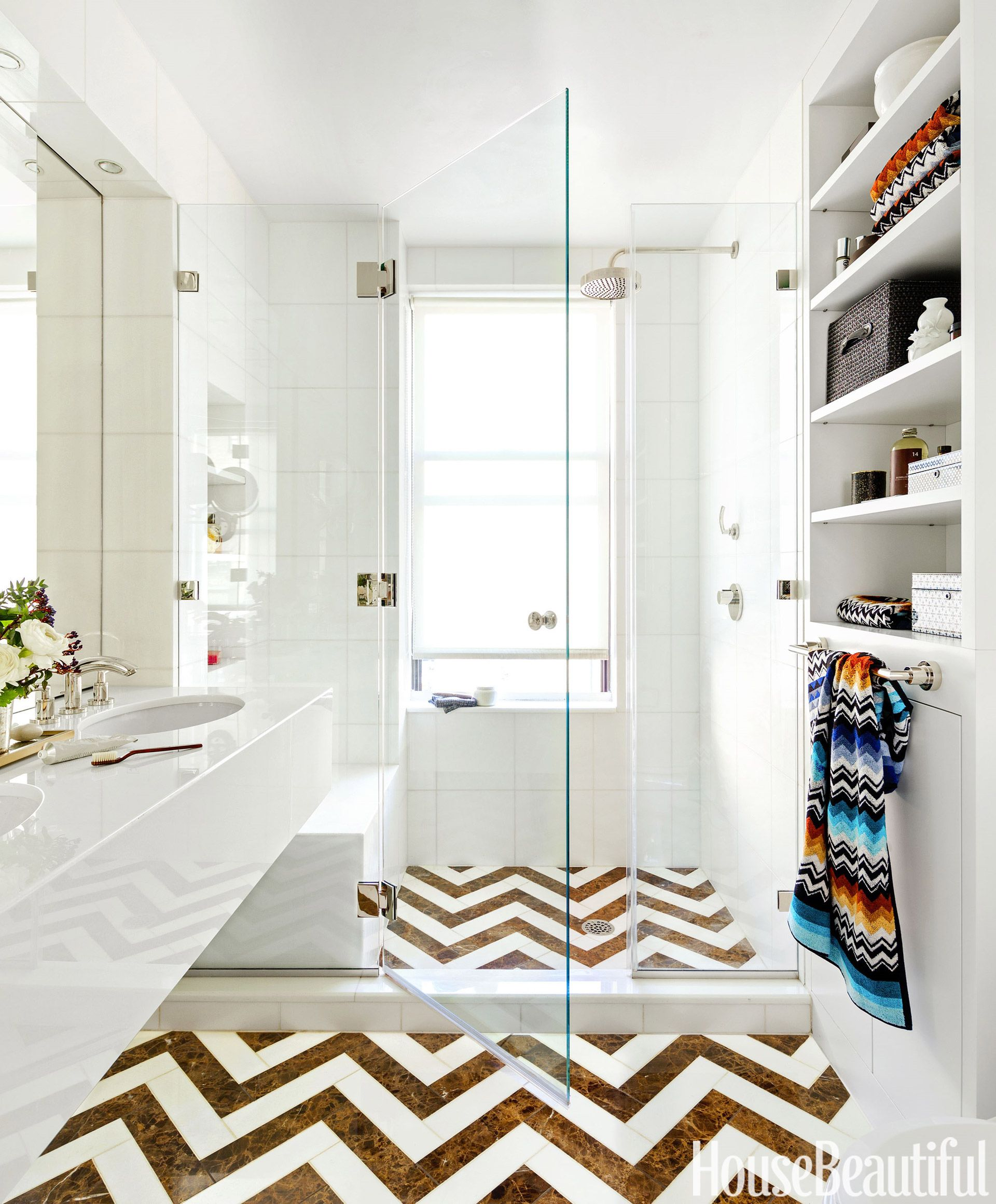 The Best Tile Ideas For Small Bathrooms - Tiling Ideas For A Small ...