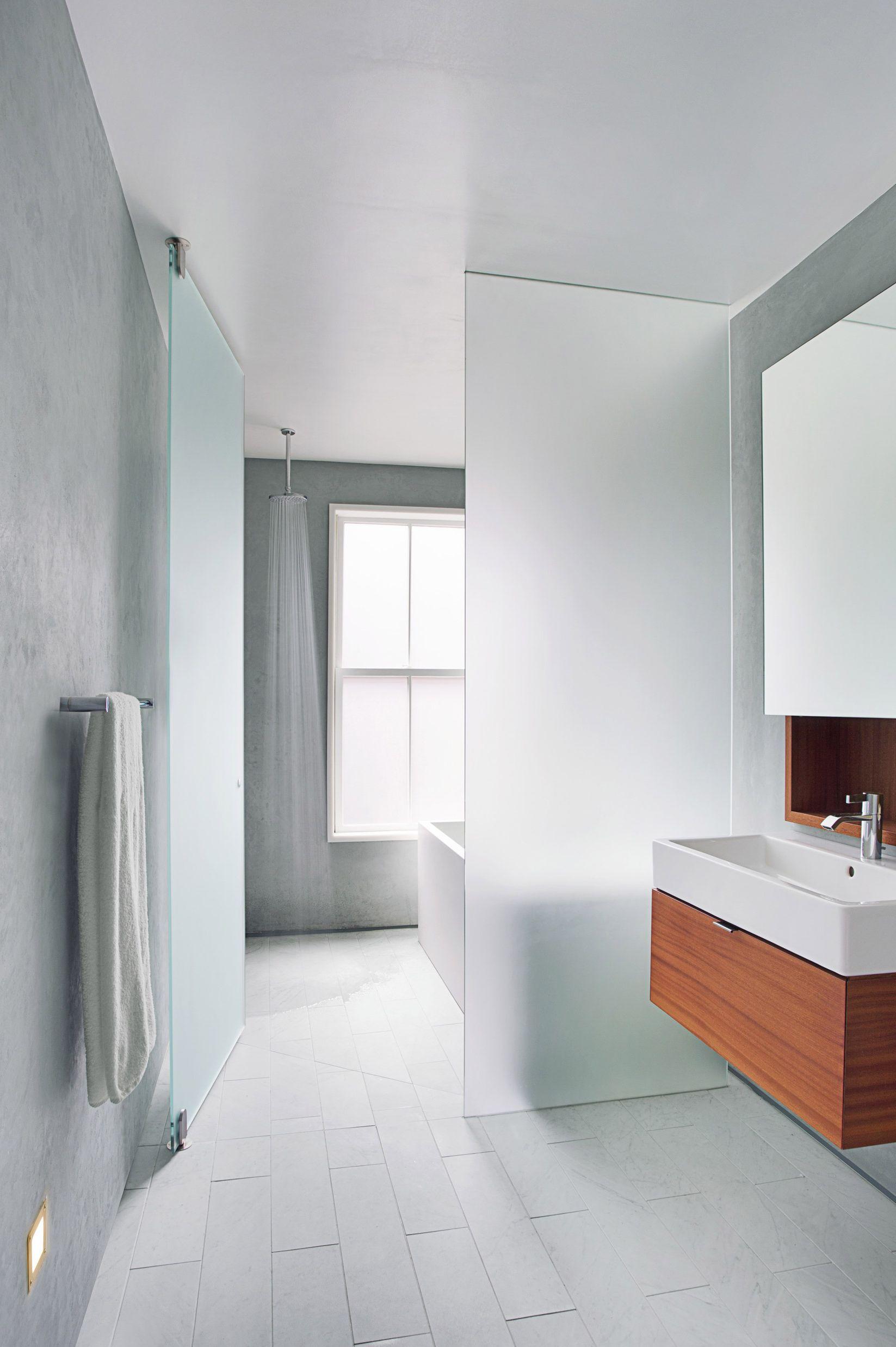 calming and ethereal bathroom