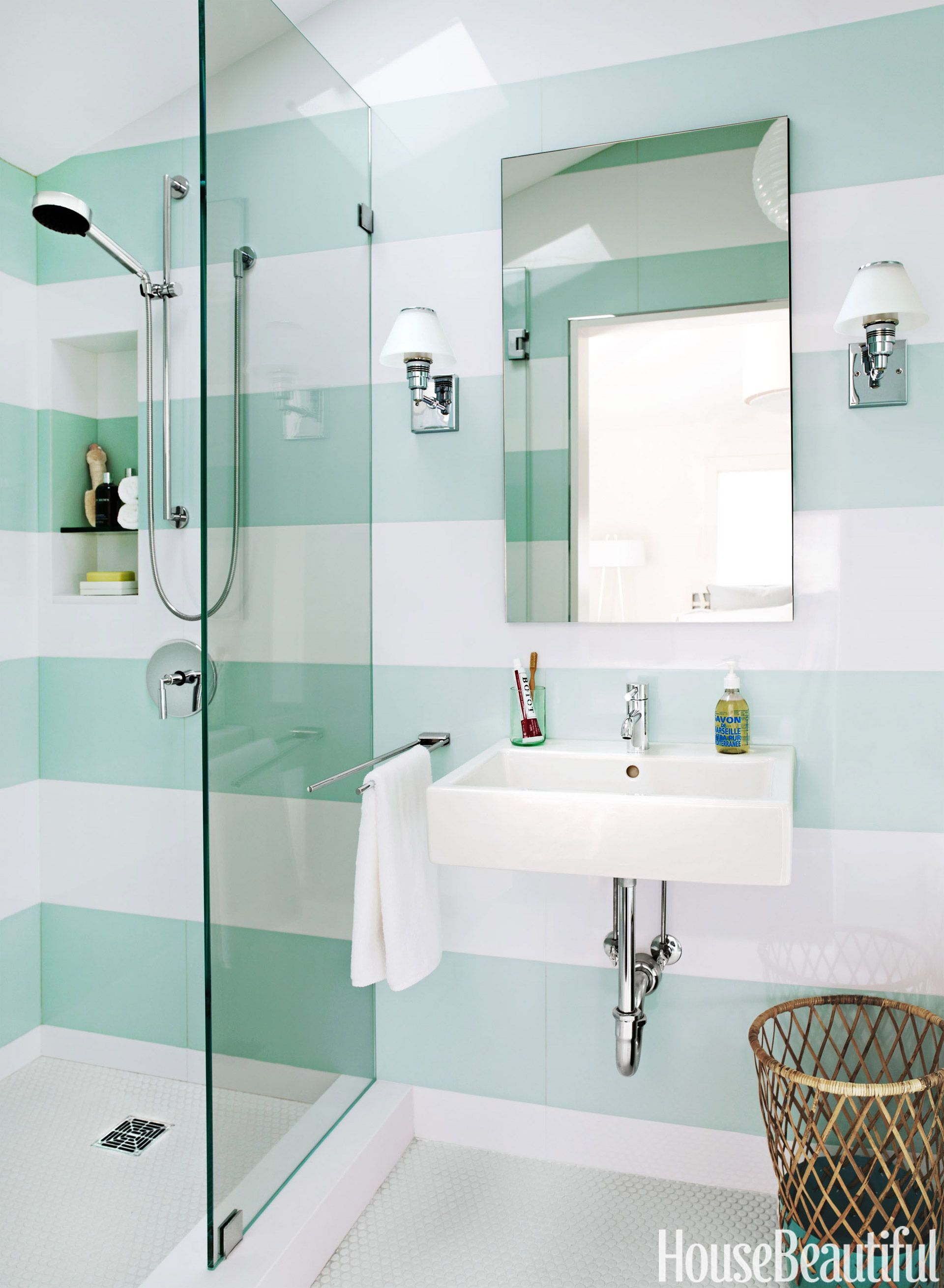 12 Best Bathroom Colors - Top Paint Color Schemes for Bathroom Walls