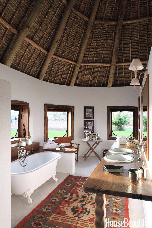 Charming Bathroom In Kenya