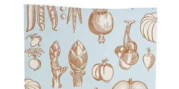 wallpaper with vegetables