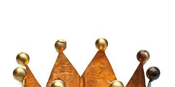gold crown votive