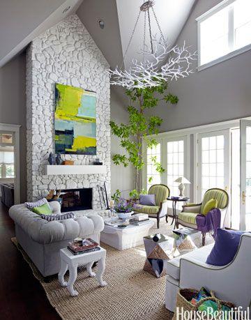 chalky white chimney