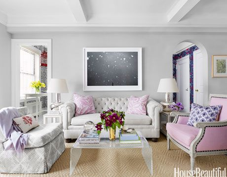 pink accent pillows