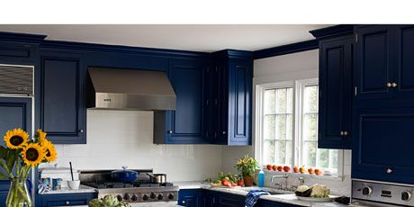 blue and white kitchen Kitchen Decor   Blue and White Kitchen blue and white kitchen