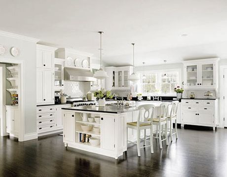 White Kitchen Courtesy Of Apartment Therapy