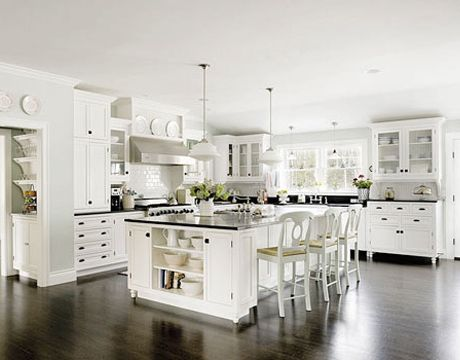 Beau White Kitchen. Courtesy Of Apartment Therapy