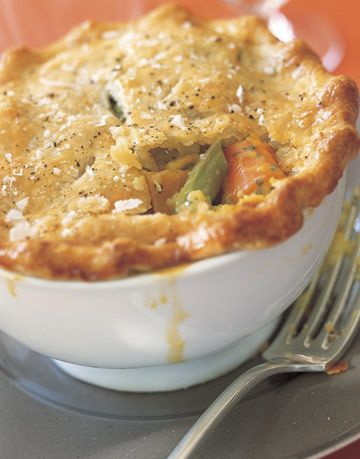 Ina S Vegetable Potpie Recipe Veggie In A Bowl With Fork