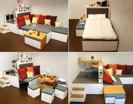 Modern Furniture for Small Spaces - Small Space Decorating Ideas