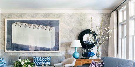 decorating with denim blue denim decor ideas - Decorating Ideas For Blue Living Rooms