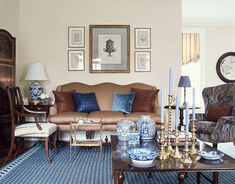 classic home decor blue decor rh housebeautiful com american classic home decor classic home decor by rana al kassim