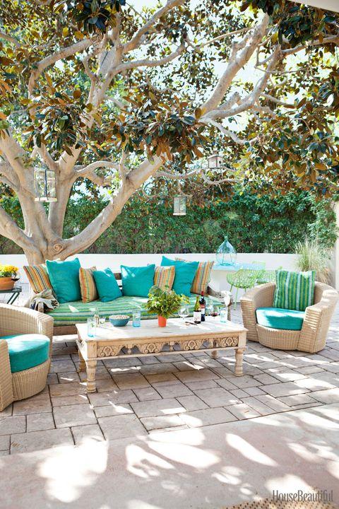 outdoor vintage sofa